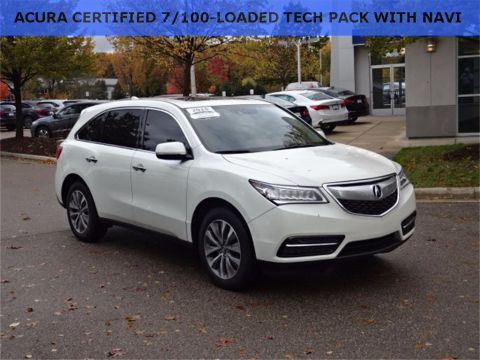 Certified Used Acura MDX 3.5L Technology Package