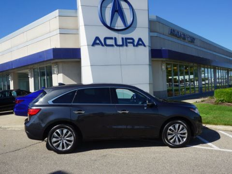 Certified Used Acura MDX SH-AWD w/Tech