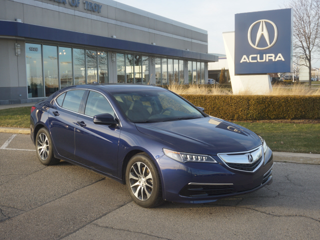 Certified Pre-Owned 2017 Acura TLX w/Tech