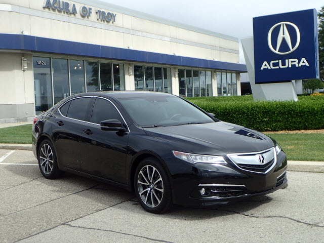 Certified Pre-Owned 2016 Acura TLX SH-AWD V6 w/Advance