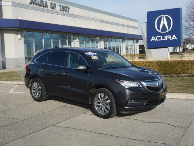 Certified Pre-Owned 2015 Acura MDX SH-AWD w/Tech