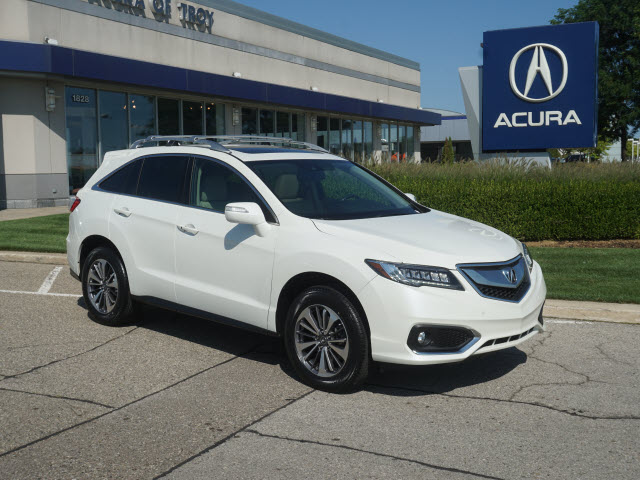 Certified Pre-Owned 2016 Acura RDX w/Advance