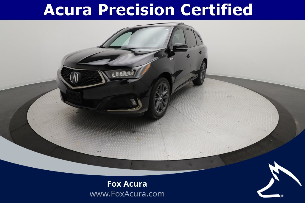 Certified Pre-Owned 2019 Acura MDX 3.5L Technology Pkg w/A-Spec Pkg