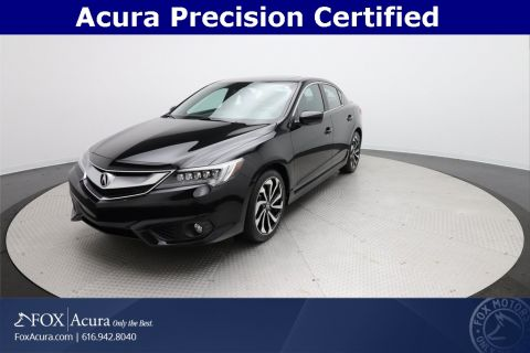 Certified Pre-Owned 2017 Acura ILX Premium and A-SPEC Packages