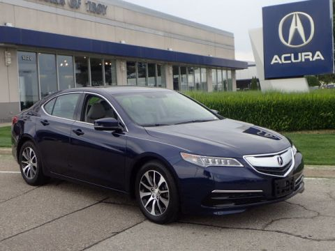 Certified Pre-Owned 2016 Acura TLX w/Tech