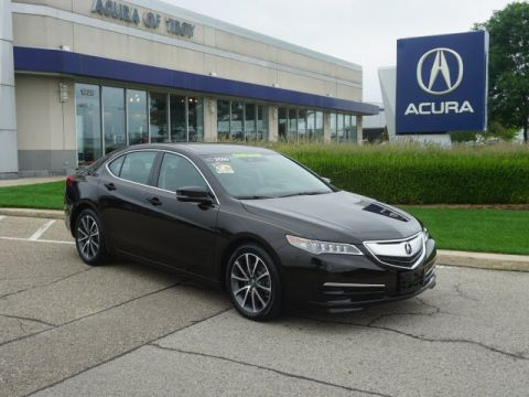 Certified Pre-Owned 2016 Acura TLX SH-AWD V6 w/Tech