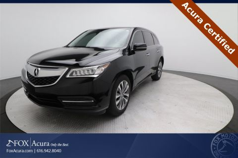 Certified Pre-Owned 2016 Acura MDX 3.5L