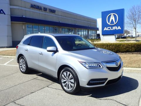 Certified Pre-Owned 2014 Acura MDX SH-AWD w/Tech