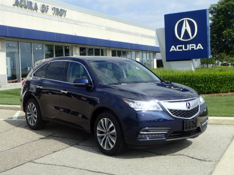 Certified Pre-Owned 2016 Acura MDX SH-AWD w/Tech w/RES