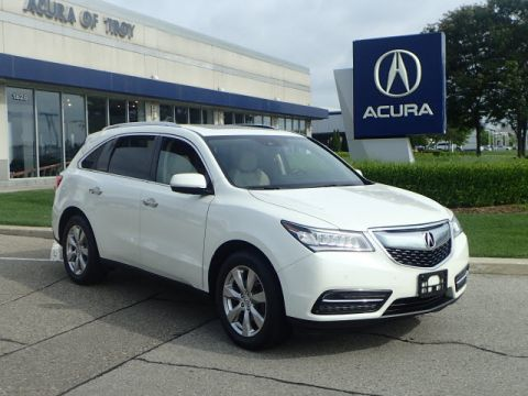Certified Pre-Owned 2016 Acura MDX SH-AWD w/Advance