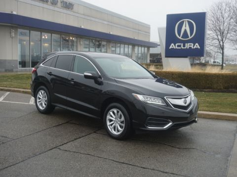 Certified Pre-Owned 2016 Acura RDX w/Tech
