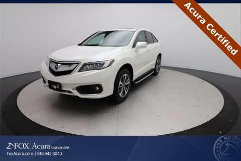 Certified Pre-Owned 2018 Acura RDX Advance Package